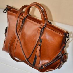 Mode Glänzend Pendler Handtaschen & Umhängetasche