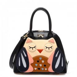 Süße Eulen-Umhängetasche Tasche diagonal Handtaschen
