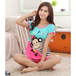 Beiläufig Neu Mode Bequem Damen Pyjama