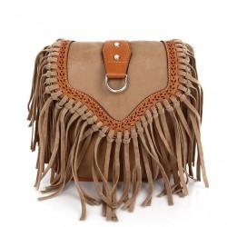 Sommer Neu Mode Quaste Mini Handtasche Schultertasche Messenger Bag