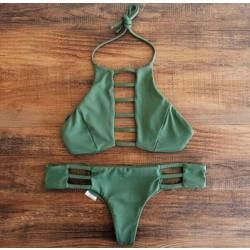 Bandage Badeanzüge drücken Tankinis Bikini Druck Badeanzüge Bikini Set