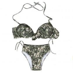 Innovation Camouflage Badeanzug Sexy Athletic Bikini Bademode Badeanzug