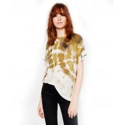 Mode Tie-Dye Printing kurzärmeliges T-Shirt für Frauen