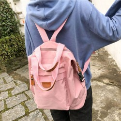 Frische Schultasche Multifunktions-Handtasche Studentin Rucksack