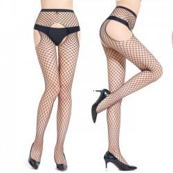 Sexy offene Strumpfhose Strümpfe Dessous Netzstrümpfe weibliche Strümpfe