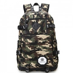 New Oxford Brass Middle School Bag Large Sport Backpack Outdoor Camouflage Travel Backpack