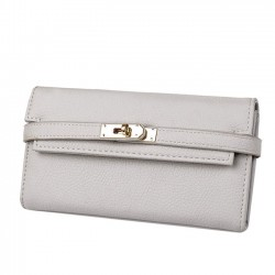 Mode Litchi Muster Damen Clutch Bag Multi-Card Geldbörse lange Brieftasche