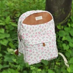 Frische süße Blumendruck-Rucksack