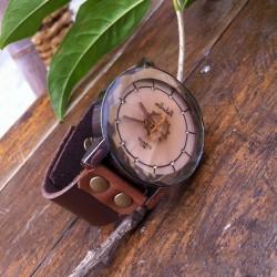 Retro Kreative Getriebe Strass Uhren