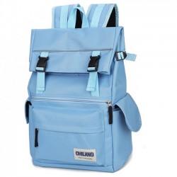 Freizeit Große Taschen Nylon Wasserdicht Laptop Schulranzen Draussen Rucksack