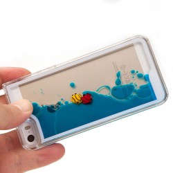Fließenfische Flüssige Ozean Iphone 4/5/6 Cases