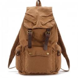 Retro Segeltuch Studententaschen Reisetaschen Rucksäcke
