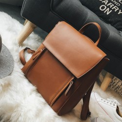 Retro elegant große Multifunktions Umhängetasche Student Tasche Schulrucksack