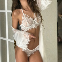 Sexy Lace Floral Hollow Underwear Intimate Women Lingerie