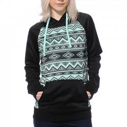 Neue Mädchen Stickerei Raglan Ärmel T-Shirt Pullover Hoodie Pullover