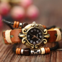 Retro Nationale Stil Armband Uhr