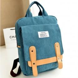 Mode Freizeit Schule Segeltuch Rucksack
