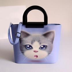 Frische Schöne Kitten Muster-Handtaschen-Umhängetasche