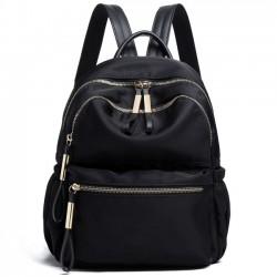 Mode einfache reine Farbe wasserdicht Oxford Schultasche Schüler Rucksack