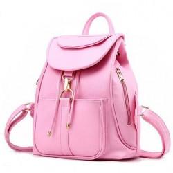 Süßigkeiten Sechs Farbe Wählen Rucksack Seite Reißverschluss Tasche Schultasche