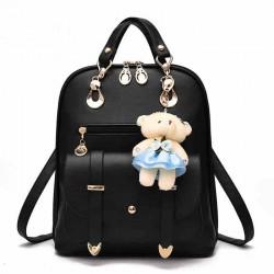 Neu Hochschule Frauen Tasche Britische Bär Multifunktions Handtasche Rucksäcke