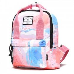Kreativer Regenbogen-Steigungs-Graffiti-wasserdichter Multifunktionshandtaschen-Rucksack
