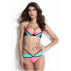 Geometrie Sexy Einstellbar Gurt Bikini