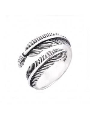 Einzigartig Engel Flügel Feder Ring