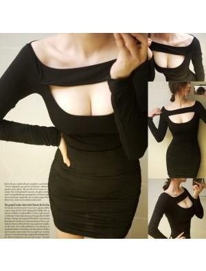 Reizvolle dünne Trägerloses Kleid & Party Kleid