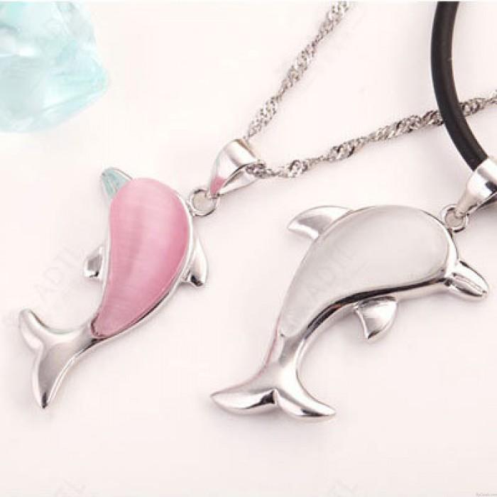 Schöne Dolphin Tiersterlingsilber -Anhänger