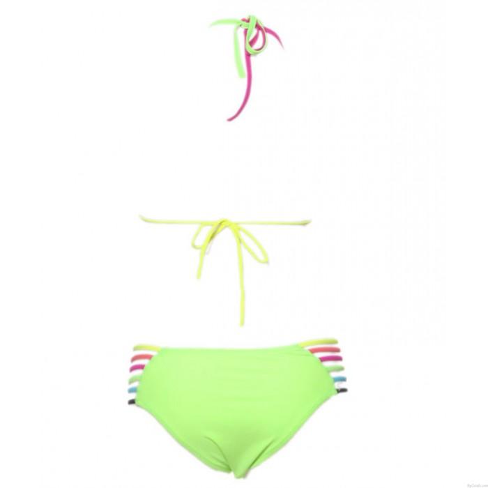 Sexy Bunt Multi Riemen Bikini