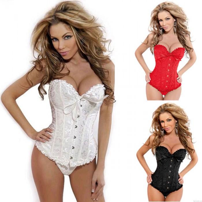 Sexy Lace Fashion Court Brustpflege Korsett