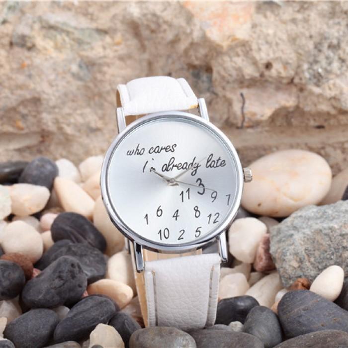 Mode einfachen digitalen Metall PU-Uhr