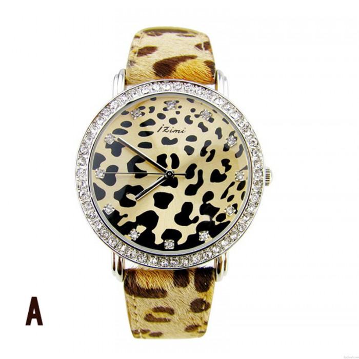 Sexy Leopard-Druckuhr