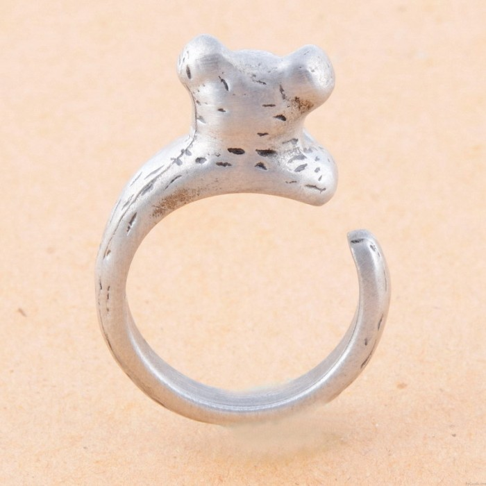 Tiere Ring Schöne Goldene Piggy-Öffnungs-Ring