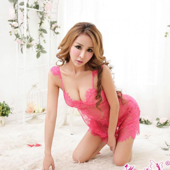 Sexy Blumenspitze Unterwäsche Versammeln Bowknow Halfter G-String-Set Unterwäsche