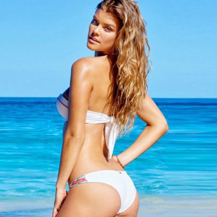 Bunte Rope & Sexy Badeanzug für Hohl geraffter Bikini-gesetzte Badeanzug