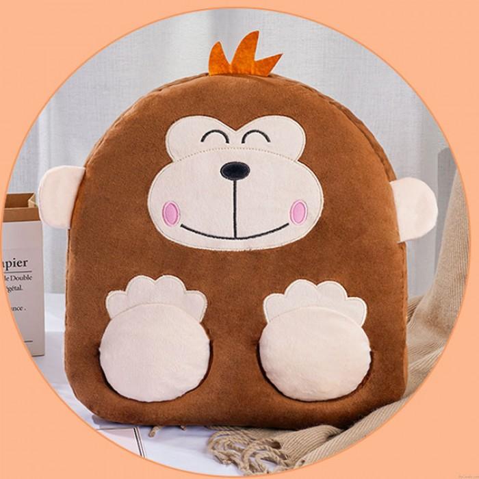 Niedliches Kissen USB-Büro-Winter-Erwärmungs-Affe-Katzen-Miezekatze-Schwein-Karikatur-Tierhandfuß-Erwärmung