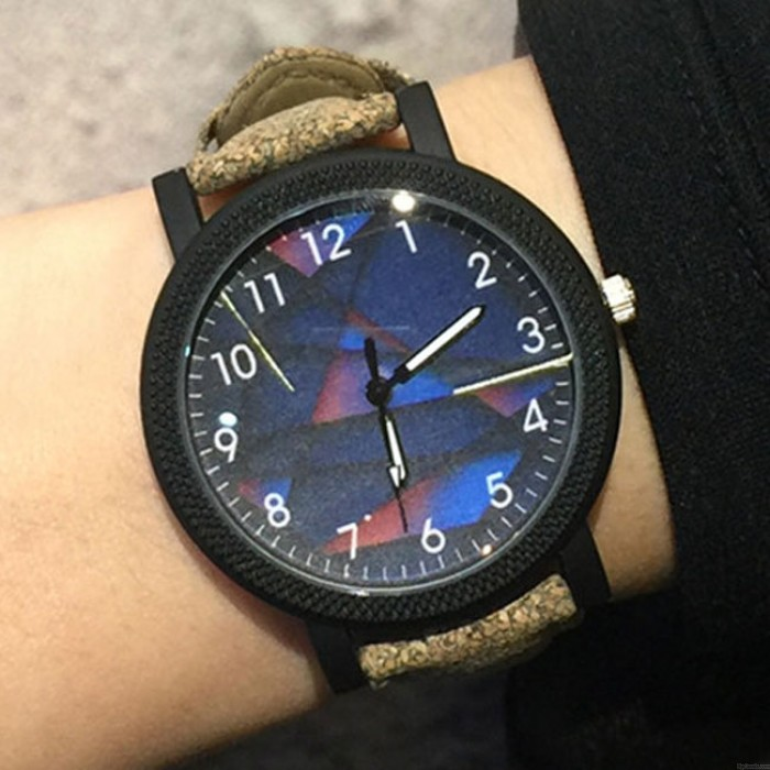 Retro Dämmerung Kompass Fantasy Rom Charm Lederband Student Casual Armbanduhr