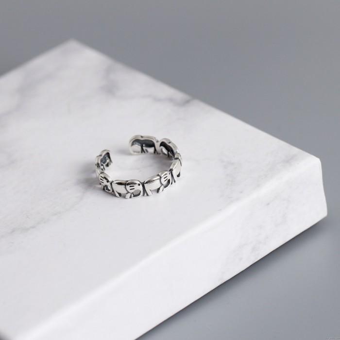 Niedlicher Elefant Spleiß Hohl Silber Charm Schmuck Geschenk Für Ihr Silber Tier Offener Ring