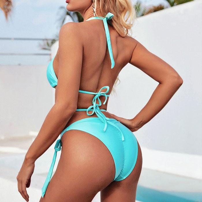 Sexy Diamant Kreuz Kette Schlinge Sommer Badeanzug Fish Star Schale Bikini