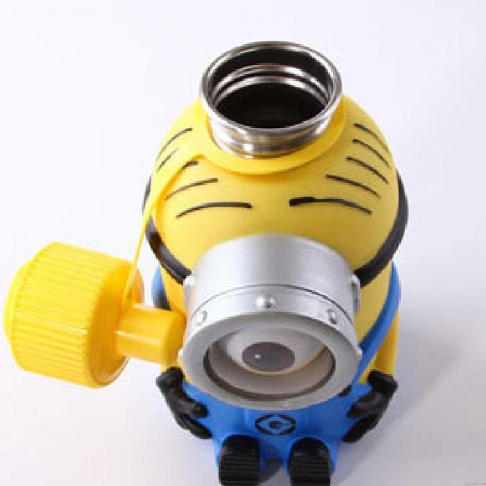 Niedliche Minions Cartoon Edelstahl große Vakuum Cup