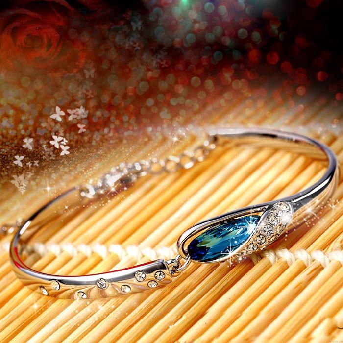 Eleganter Diamant Kristall Armband