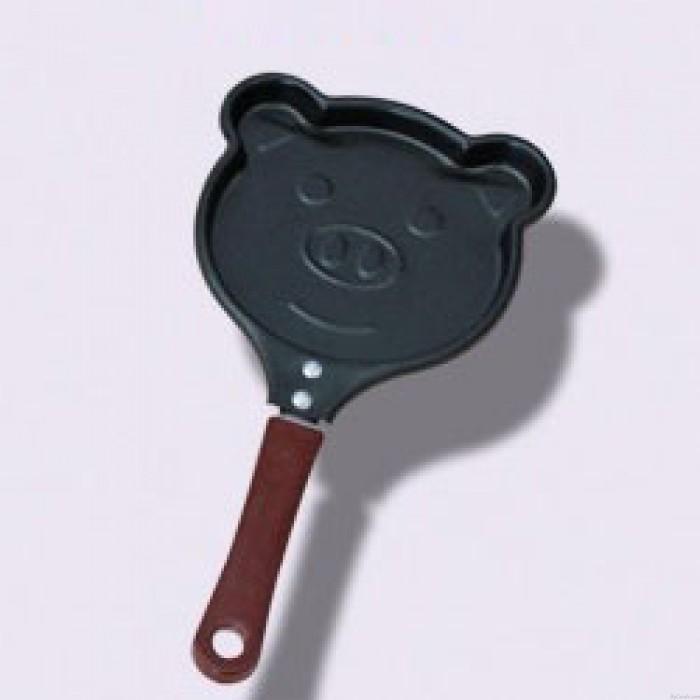Romantische Geschenk-lustige Form-rostfreie Metallnichtstock-Bratpfanne