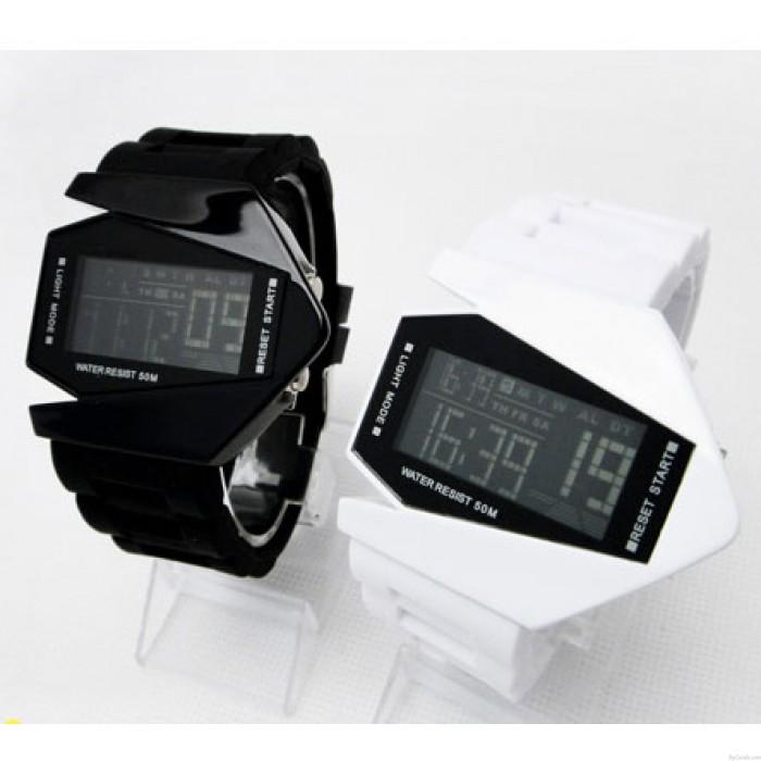 Luminous bunte Lichter LED-Multifunktions-elektronische Uhr