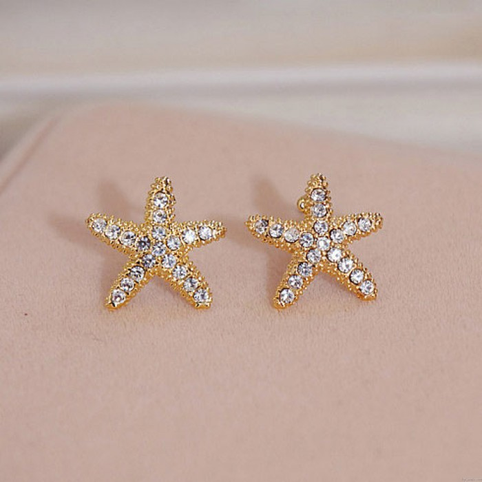 Nette süße Seesterne Ohrringe