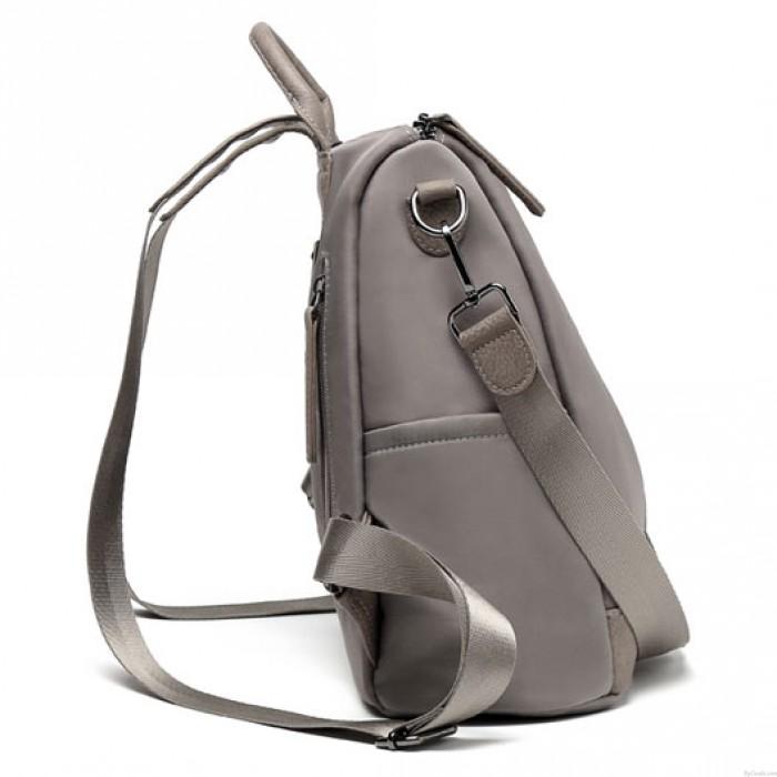 Britischer Art-wasserdichter doppelter Reißverschluss-Multifunktionshandkurier PU-Rucksack des großen Schulmädchens