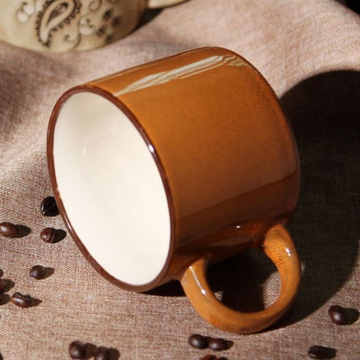 Retro-Persönlichkeit handgemalte Keramik-Becher / Kaffeetasse