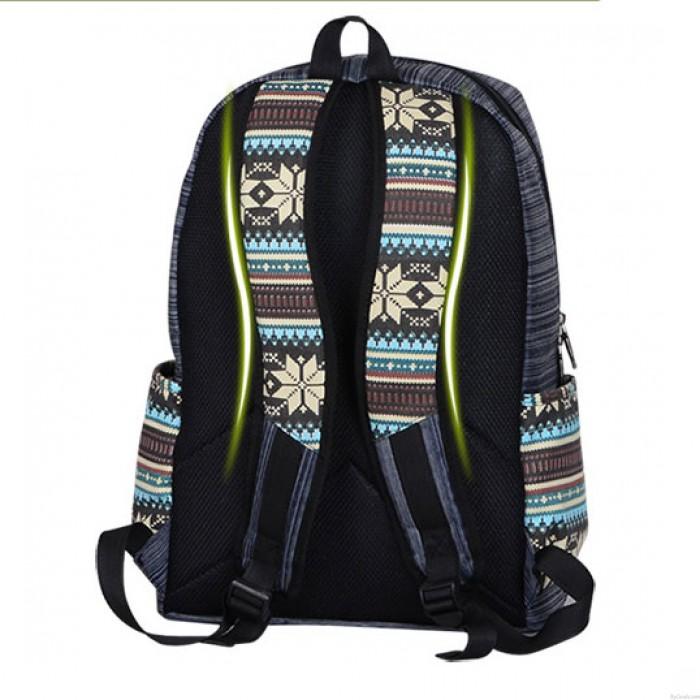 Volks Frische Geometrie Stamm Spielraum-Rucksack Schultasche