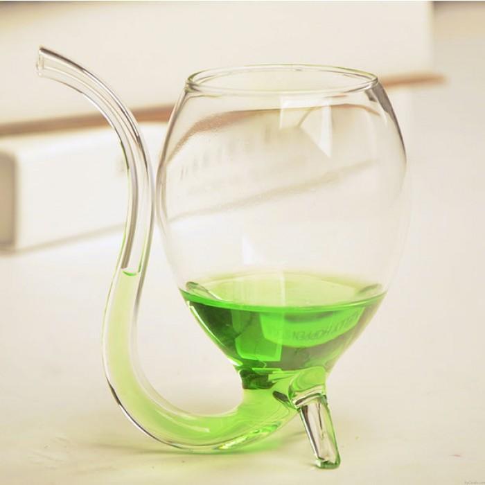 Kristall klar Vampir 300ml Wein Glas Tasse